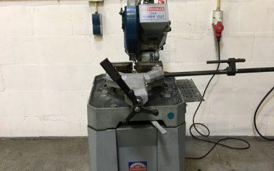 Nieuwe zaagmachine voor metaal bij De prefab Specialist