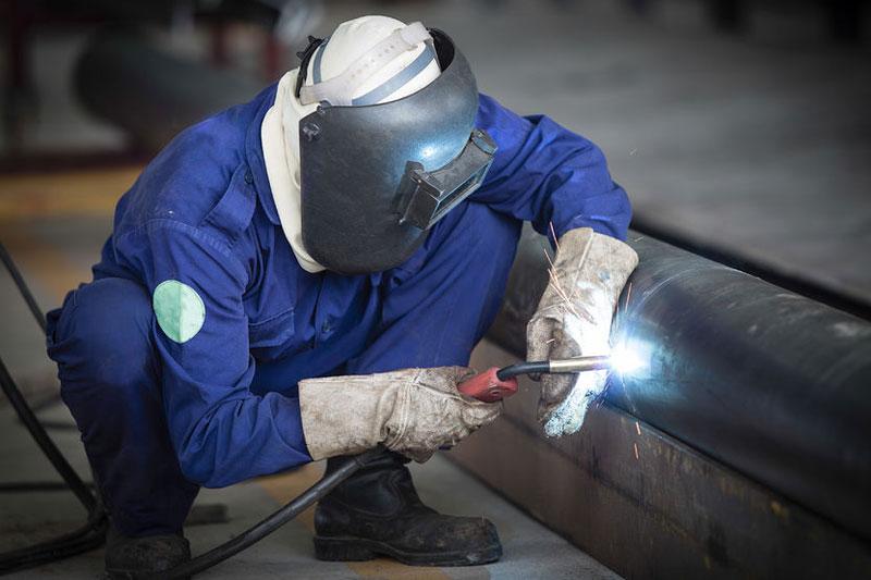 Prefabricatie stalen leidingen, skids, verdelers